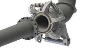 conventional marine loading arm